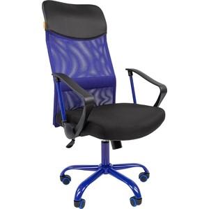 Офисноекресло Chairman 610 15-21 черный + TW синий / CMet аксессуар joy kie tw 06 hl f22 12 20