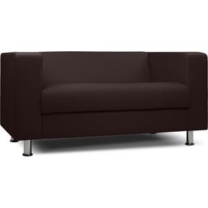 цена на Диван офисный Шарм-Дизайн Бит экокожа коричневый