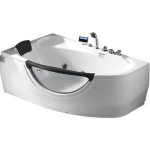 цена на Акриловая ванна Gemy 161x96 с гидромассажем (G9046 K L)