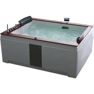 Акриловая ванна Gemy 186x151 с гидромассажем (G9052 II K L) акриловая ванна gemy 187x187 с гидромассажем g9089 k l