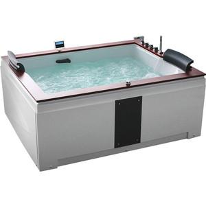 Акриловая ванна Gemy 186x151 с гидромассажем (G9052 II K R)