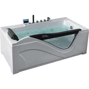 Акриловая ванна Gemy 181x92 с гидромассажем (G9055 K R) фото