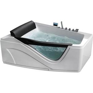 Акриловая ванна Gemy 170x130 с гидромассажем (G9056 K L) акриловая ванна gemy g9052 ii k r