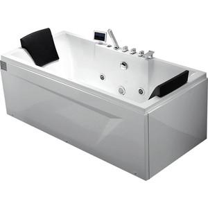 Акриловая ванна Gemy 175x85 с гидромассажем (G9065 K L)