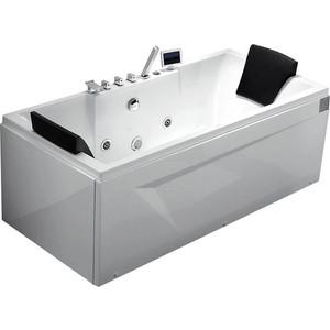 Акриловая ванна Gemy 175x85 с гидромассажем (G9065 K R)