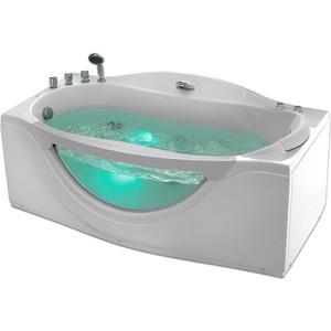 Акриловая ванна Gemy 171x92 с гидромассажем (G9072 B L) lesoto 666 l b silver page 8
