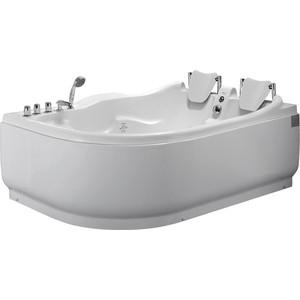 Акриловая ванна Gemy 180x121 с гидромассажем (G9083 B R) фото