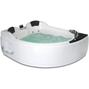 Акриловая ванна Gemy 170x133 с гидромассажем (G9086 K L)