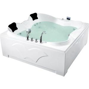 Акриловая ванна Gemy 187x187 с гидромассажем (G9089 K L)
