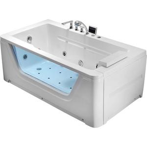 Акриловая ванна Gemy 172x91 с гидромассажем (G9225 K) акриловая ванна gemy 187x187 с гидромассажем g9089 k l