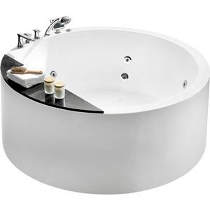 Акриловая ванна Gemy 150x150 с гидромассажем (G9230 K) акриловая ванна newday 150x150 ravak c661000000