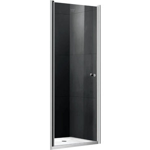 Душевая дверь Gemy New Rockcoco 80 прозрачная, хром (S03190A)