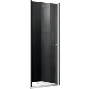Душевая дверь Gemy New Rockcoco 100 прозрачная, хром (S03190C)