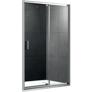 Душевая дверь Gemy Sunny Bay 130 прозрачная, хром (S28191D) цены