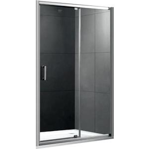 Душевая дверь Gemy Sunny Bay 140 прозрачная, хром (S28191E) душевой уголок gemy sunny bay s28131e a85 s28191e a85 без поддона