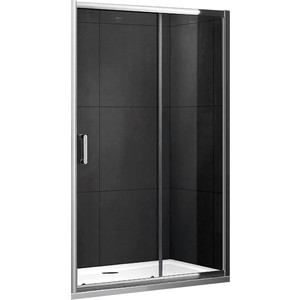 Душевая дверь Gemy Victoria 140 прозрачная, хром (S30191B)