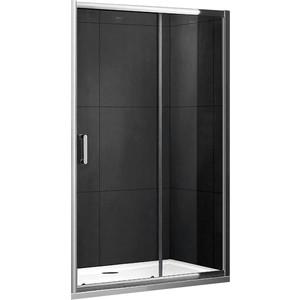 Душевая дверь Gemy Victoria 110 прозрачная, хром (S30191D)