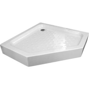 Душевой поддон Gemy 80x80 см, акриловый (ST09T) поддон для балконного ящика ingreen цвет белый длина 60 см