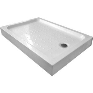 Душевой поддон Gemy 150x80 см, акриловый (ST13C) поддон для балконного ящика ingreen цвет белый длина 60 см