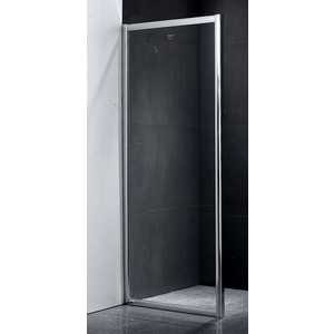 Боковая стенка Gemy 75x190 прозрачный, хром (A75) все цены