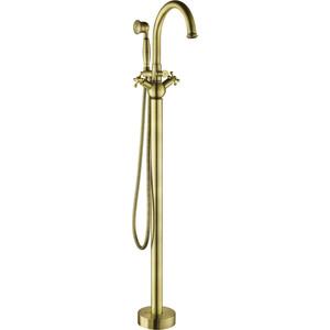 Смеситель для ванны Gemy напольный, бронза (G7099