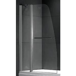 Шторка на ванну Gemy New Rockcoco 100 прозрачная, хром (S03201)
