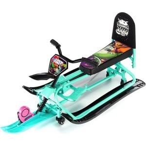 Снегокат-трансформер Small Rider с колесиками и спинкой Snow Comet 2 (аква)