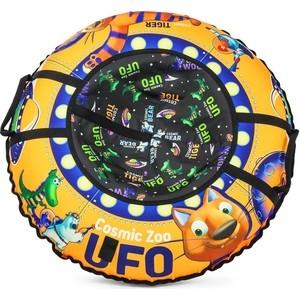 Санки-тюбинг Small Rider UFO (CZ) (оранжевый тигренок)