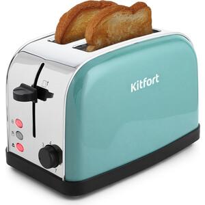 лучшая цена Тостер KITFORT KT-2014-4 голубой