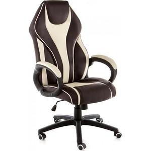 Компьютерное кресло Woodville Danser коричневое/бежевое