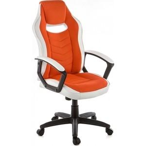Компьютерное кресло Woodville Gamer белое/оранжевое кресло компьютерное woodville gamer
