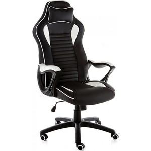 Компьютерное кресло Woodville Leon черное/белое все цены
