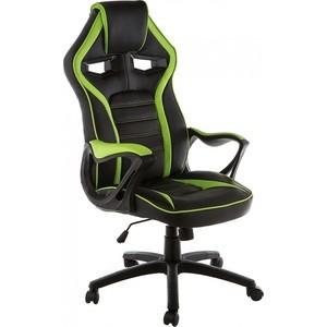 Компьютерное кресло Woodville Monza черное/зеленое компьютерное кресло woodville leon черное зеленое
