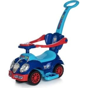 Каталка Baby Care Cute Car (музыкальный руль) Синий/Красный (Blue/Red) 558W