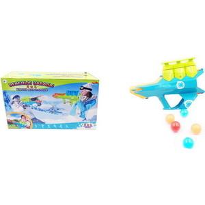 Бластер для снежков Abtoys Веселые 2 в 1 Зимние забавы (PT-00867)
