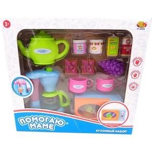 Игровой набор Abtoys Кухонная техника с продуктами Помогаю Маме, 14 предметов (PT-00480)