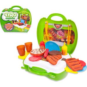Игровой набор Abtoys Гриль Чудо-чемоданчик, 23 предмета (PT-00459)
