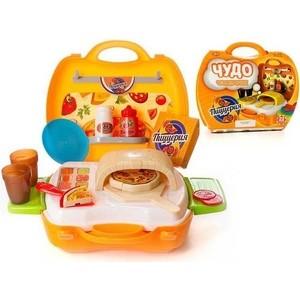 Игровой набор Abtoys Пиццерия Чудо-чемоданчик, 22 предмета (PT-00460)