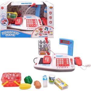 Игрушечная касса Abtoys Помогаю Маме. в наборе с продуктами (PT-00814)