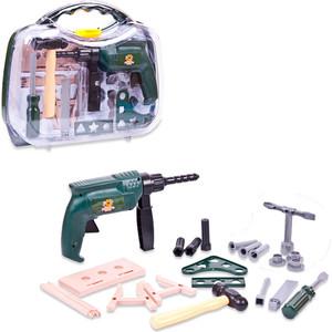 Игровой набор Abtoys инструменты в чемодане Помогаю Папе, 22 предмета (PT-00566)