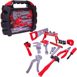 Игровой набор Abtoys инструменты в чемодане Помогаю Папе, 27 предметов (PT-00270)