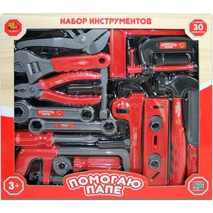 Игровой набор Abtoys инструменты Помогаю Папе, 30 предметов (PT-00271)
