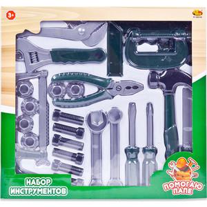 Игровой набор Abtoys инструменты Помогаю Папе, в наборе 24 предмета (PT-00570)