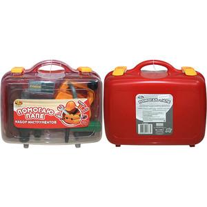 Игровой набор Abtoys инструменты в чемодане Помогаю Папе, 8 предметов (PT-00070(WK-9746))