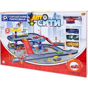 Игровая Парковка Abtoys АвтоСити, 2-х уровневая, 53 детали (PT-00860)