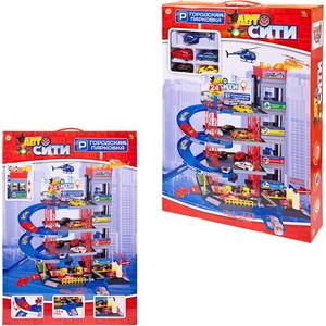 Игровая Парковка Abtoys АвтоСити, 4-х уровневая, 67 деталей (PT-00903)