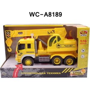 Машинка электромеханическая Abtoys Кран 1:16 (WY305S)