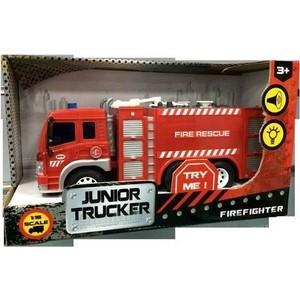 Машинка электромеханическая Dave Toy Ltd. Пожарная 1:16 (33016)