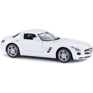 Машинка радиоуправляемая Rastar 1:14 Mercedes-Benz SLS AMG, цвет белый 27MHZ (47600W)
