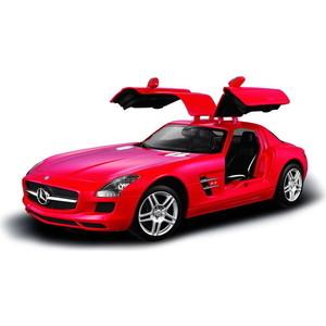 Машинка радиоуправляемая Rastar 1:14 Mercedes-Benz SLS AMG, цвет красный 27MHZ (47600R)